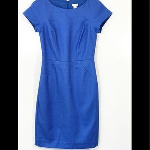 J. Crew Blue Sheath Dress